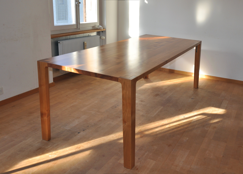 Grosser Kirschbaumtisch | Schreinerei Holzlabor Bern